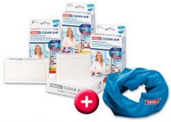 Clean Air Feinstaubfilter für Laserdrucker, Größe M, 140 x 70 mm, plus gratis Schaltuch